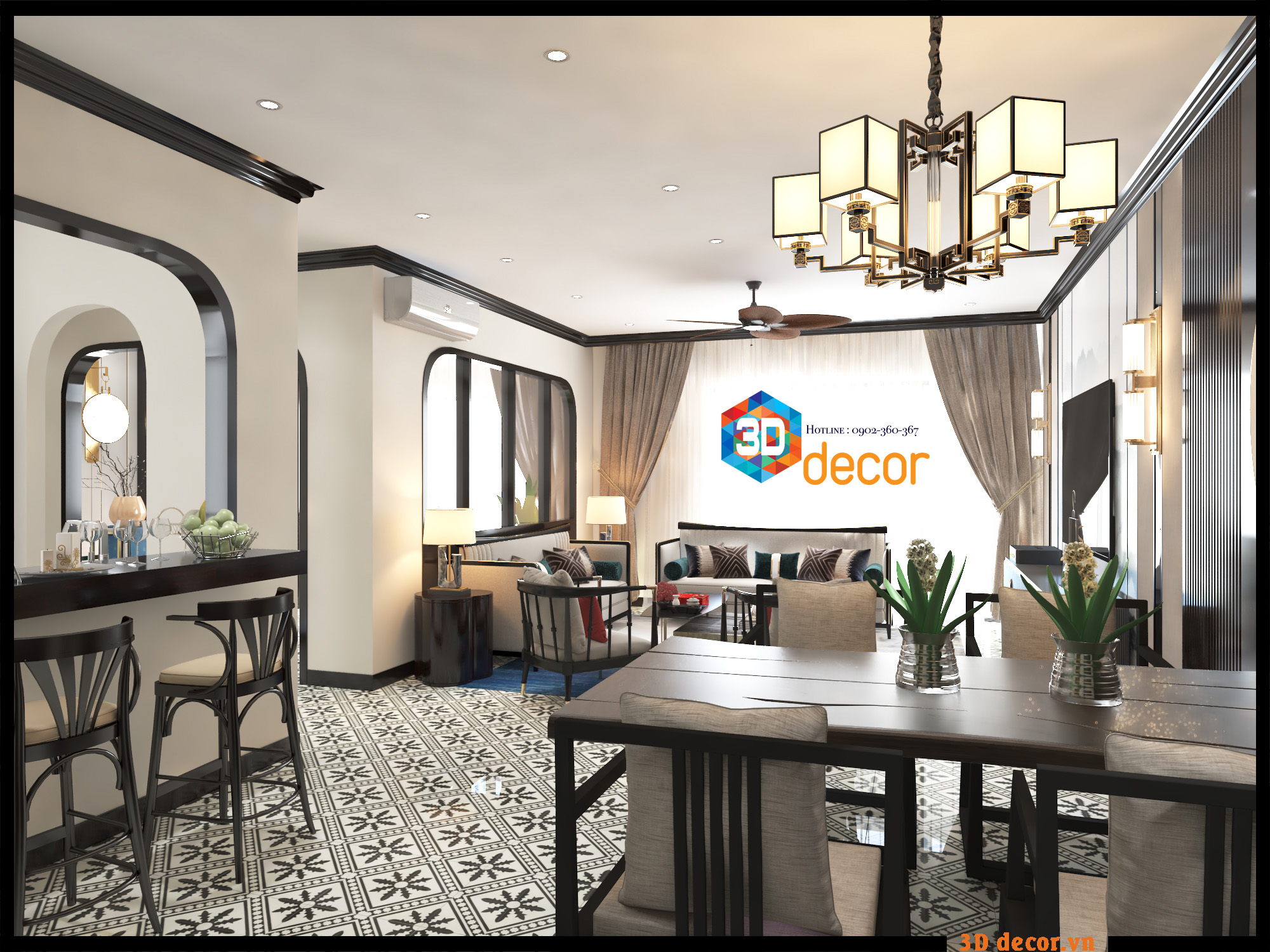 3D DECOR's design - Indochina